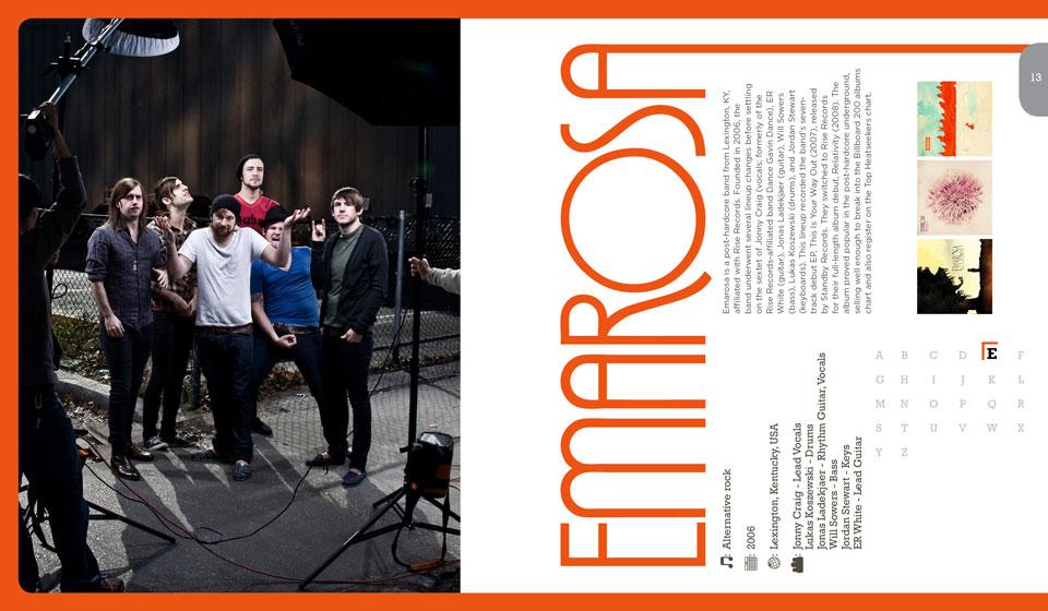 Emarosa Publication Layout Design