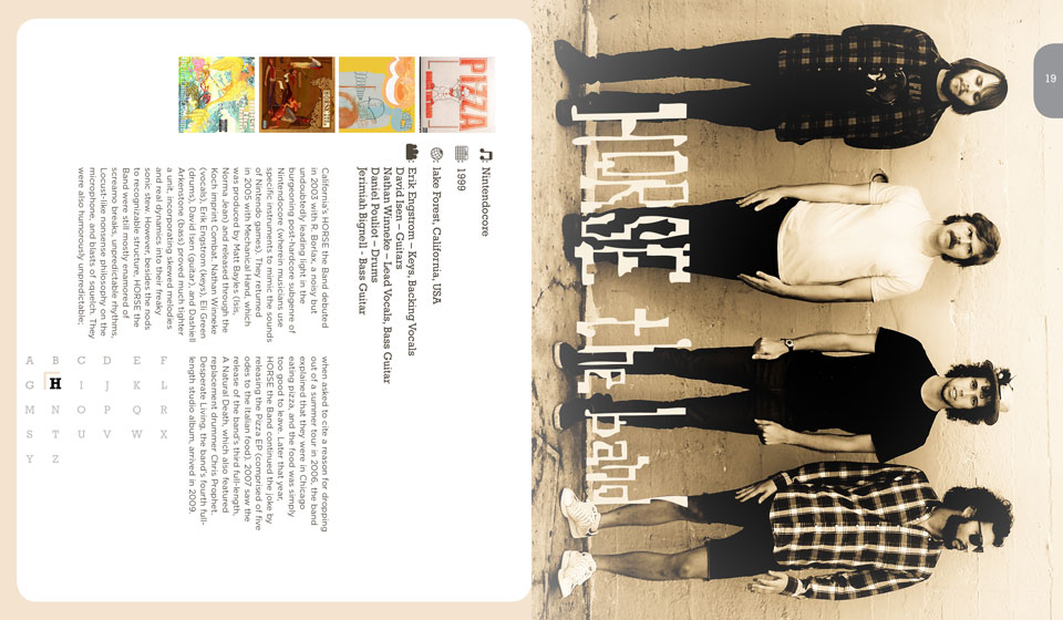 Horse the Band Publication Layout Design
